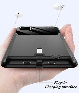 Чехол для аккумулятора 10000 мАч для Oppo F17 Reno 4 SE A7X, умное зарядное устройство, чехол s, чехол, внешний аккумулятор для Oppo F17, чехол для аккумулято...