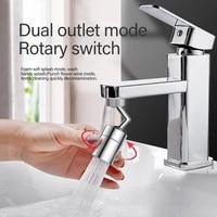 rotate the water outlet 720%c2%b0 it is more convenient to wash your face and gargle