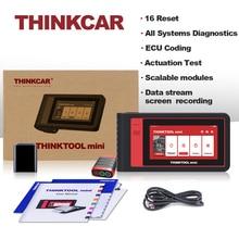 Thinkcar Thinktool мини все системы диагностический инструмент авто VIN Wifi 28 сбросов бесплатно полный OBD2 сканер ЭБУ Программирование IMMO активный тест
