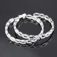 funmode big hip hop punk style cubic zircon circle hoop earring for women girls bithday gifts brincos wholesale fe105