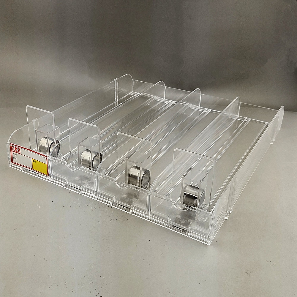 Plastic Commodity Refill Pusher Cigarettes Automatic Propulsion System Unitary 4-in-1 for Retail Supermarket Shelf Rack 4sets