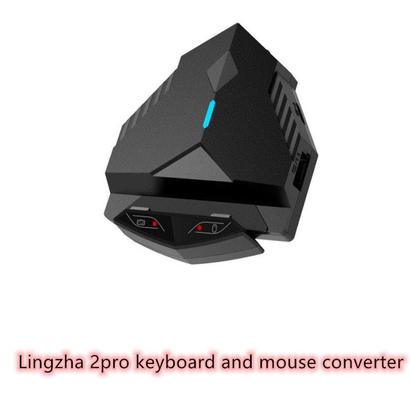 Lingzha 2pro Bluetooth Wired Keyboard Mouse Converter Adapter USB Gaming Keyboard Mouse Converter Ad