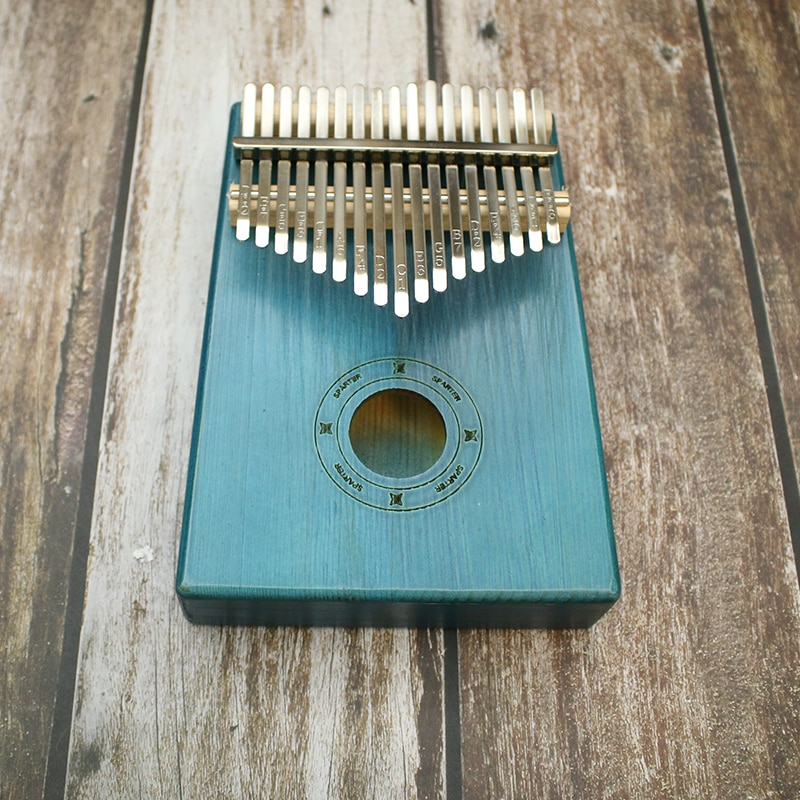 Piano 17 Key Finger Kalimba Mbira Sanza Thumb Piano Pocket Size Beginners Supporting Bag Keyboard Marimba Wood Musical Instrumen enlarge
