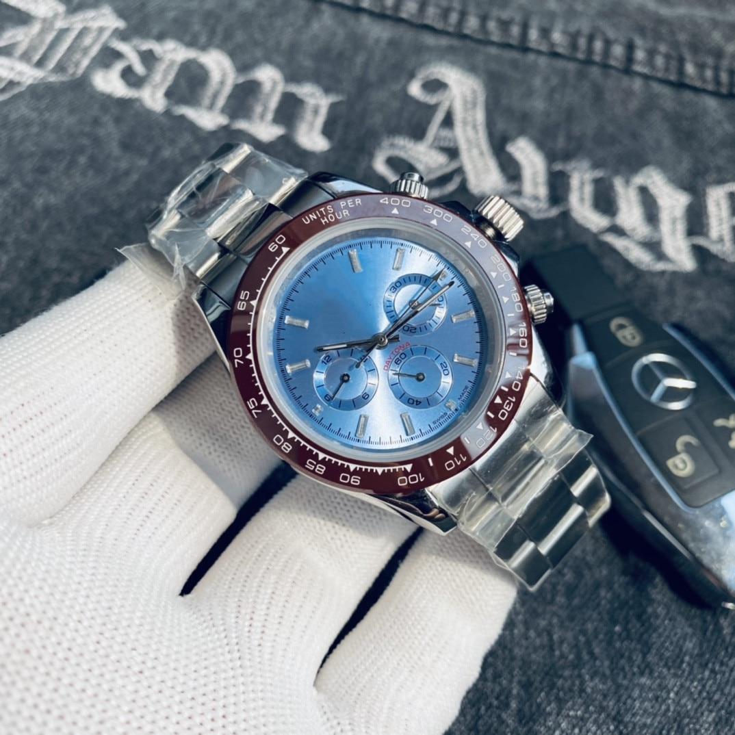 2021 new high-end business men's watch fashion watch personality watch six pin function watch