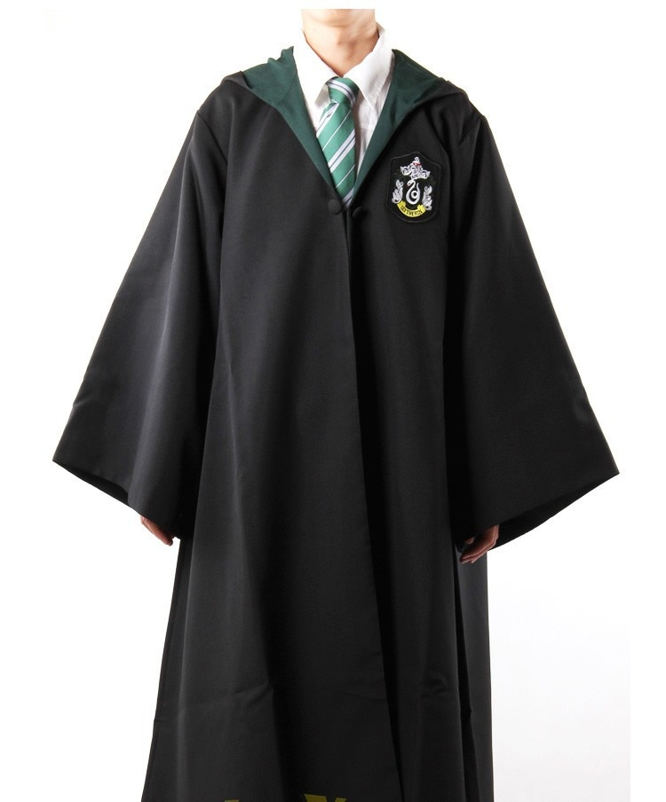 Cosplay Costume Haloween Costumes Magic Robe Cloak with Tie Kids Adult Costume Gift Cosplay