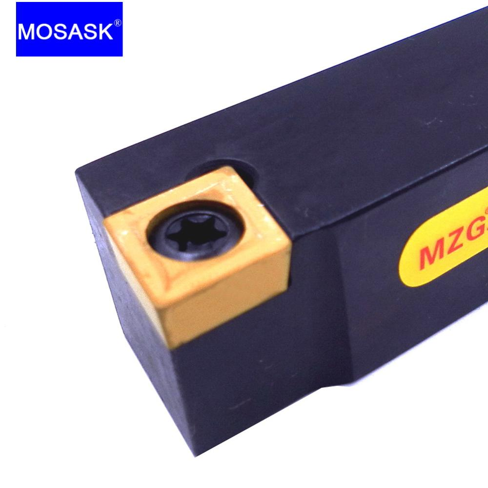 MOSASK SCACR Machining Cutter SCACR2020K09 Toolholders Boring Bar CNC Lathe External Turning Tool Holders