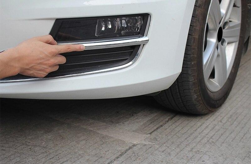Ajuste para VW Volkswagen Golf 7 Mk7 2013-2016 Auto Accesorios ABS cromo...