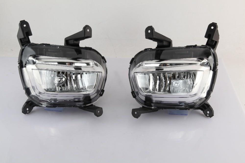 Противотуманные фары Osmrk для KIA K2, Kia Rio 2014-15, с лампой H8, 12 В, 35 Вт, одна пара, 2 шт.