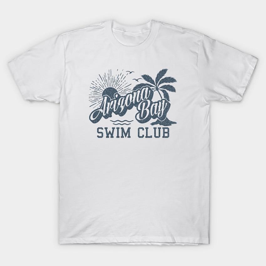 Camiseta azul del Club de natación de la Bahía de Arizona camiseta de la Bahía de Arizona banda de herramientas de la banda de herramientas de Natación de la Bahía de arizona