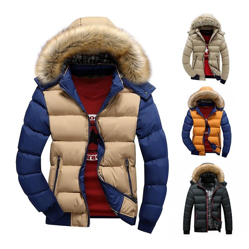 Chaqueta de invierno para hombre, abrigo cálido de 9 colores, marca de...
