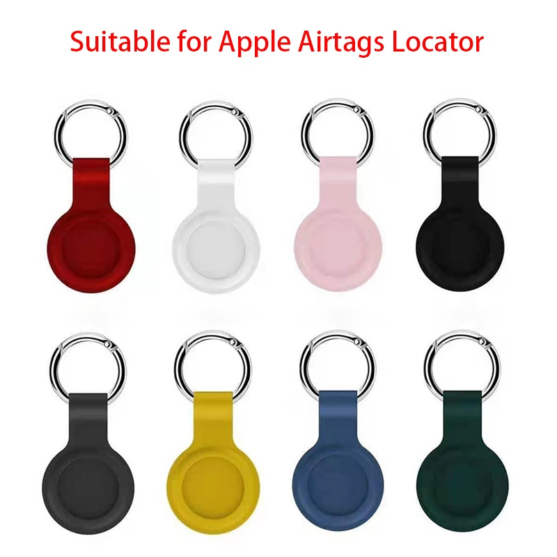 Жидкий силиконовый защитный рукав для Apple airтеги, локатор-трекер, устройство против потери, защитный рукав для брелока, Лидер продаж