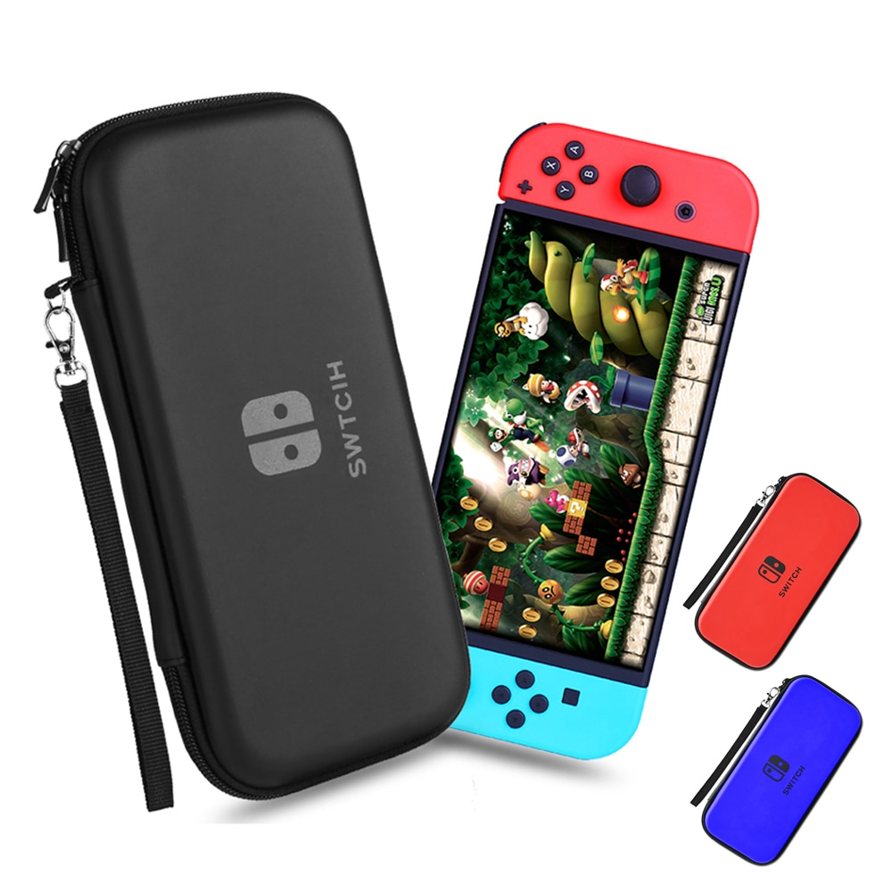 Bolsa de almacenamiento para Nintendo interruptor funda impermeable de lujo para consola...