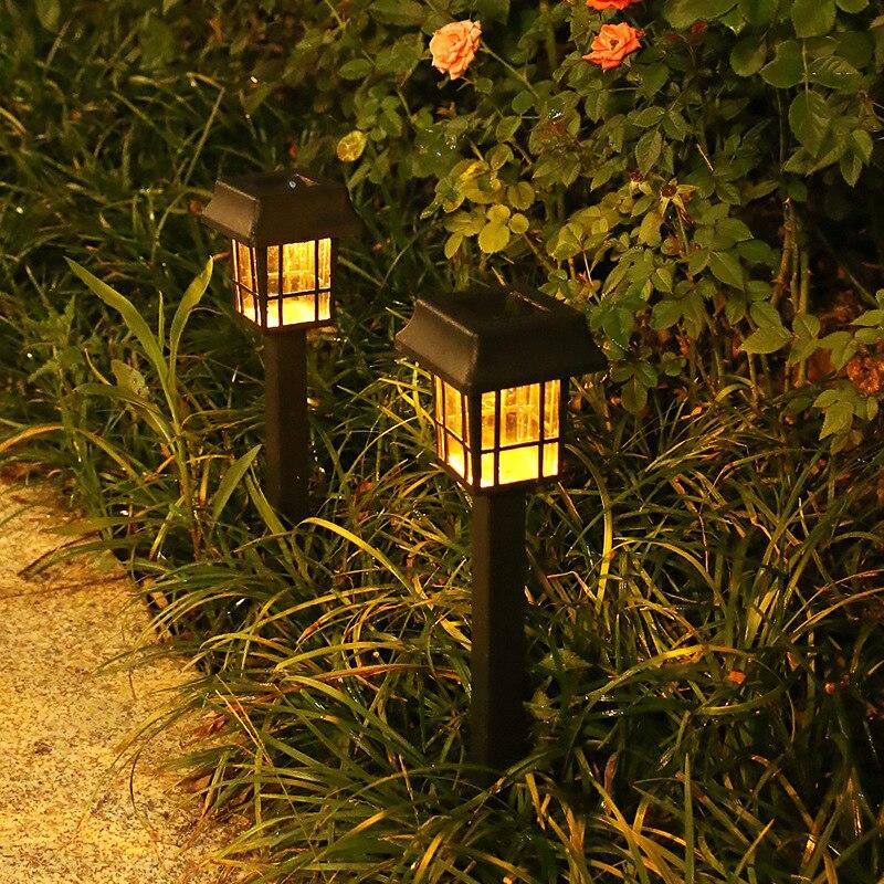 Светодиодсветодиодный фонари на солнечной батарее для газона, уличные водонепроницаемые лампы для сада, ландшафта, дорожек, патио, двора, д...