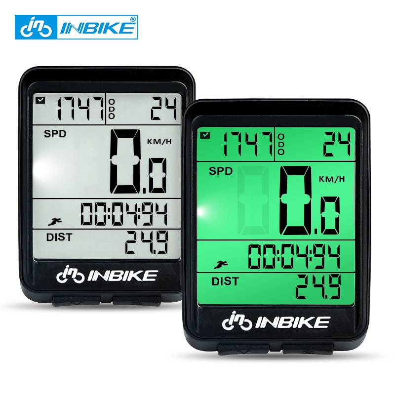 INBIKE Waterproof Bicycle Computer Wireless And Wired MTB Bike Cycling Odometer Stopwatch Speedomete