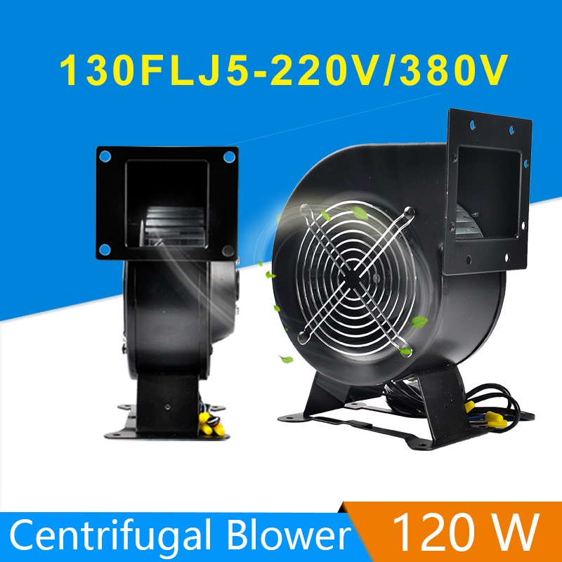 130FLJ5 الطاقة تردد الطرد المركزي مروحة 220V/380V 120W منفاخ مروحة AC-CENTRIFUGAL مروحة الطرد المركزي منفاخ