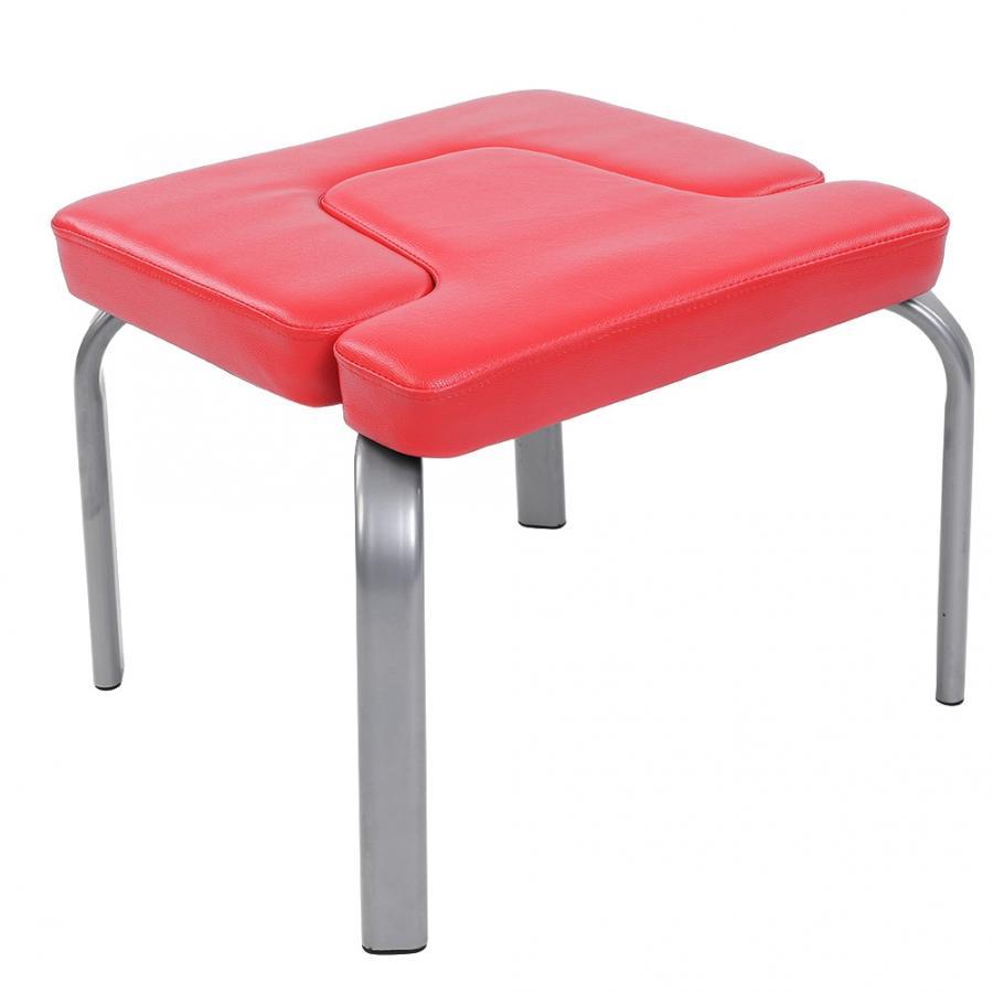 UNS 44x4 3x 36,5 cm Yoga Stuhl Headstand Hocker Ultraleicht Yoga Stuhl Inversion Bank Headstander Fitness Kit Rot