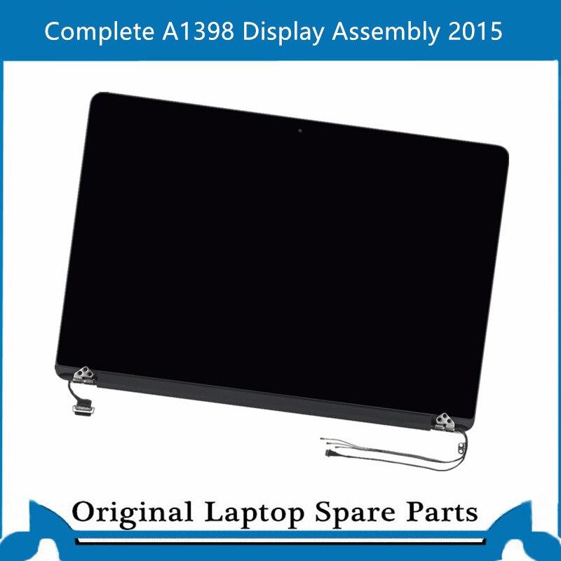 جديد كامل A1398 عرض الجمعية لماك بوك برو الشبكية 15 بوصة شاشة LCD لوحة عرض كاملة 2015