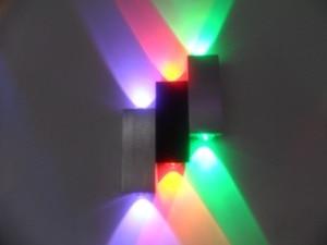 Светильник 2018 New Arrival Ce Luces Led New Design Lights 6*1w Spot 1pcs/lot Led Wall Lamp Light With High Lumen Lights,free Sh