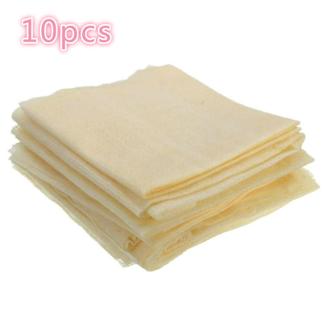 10pcs 31x24cm Automobile Spray Paint Dust Wiping Non-woven Industrial Sticky Dust Cloth For Car Wash And Maintenance