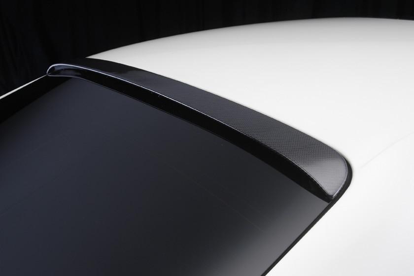 Para Maserat Quattroporte imprimación FRP techo trasero labio alerón ala 2005-2008 estilo moderno