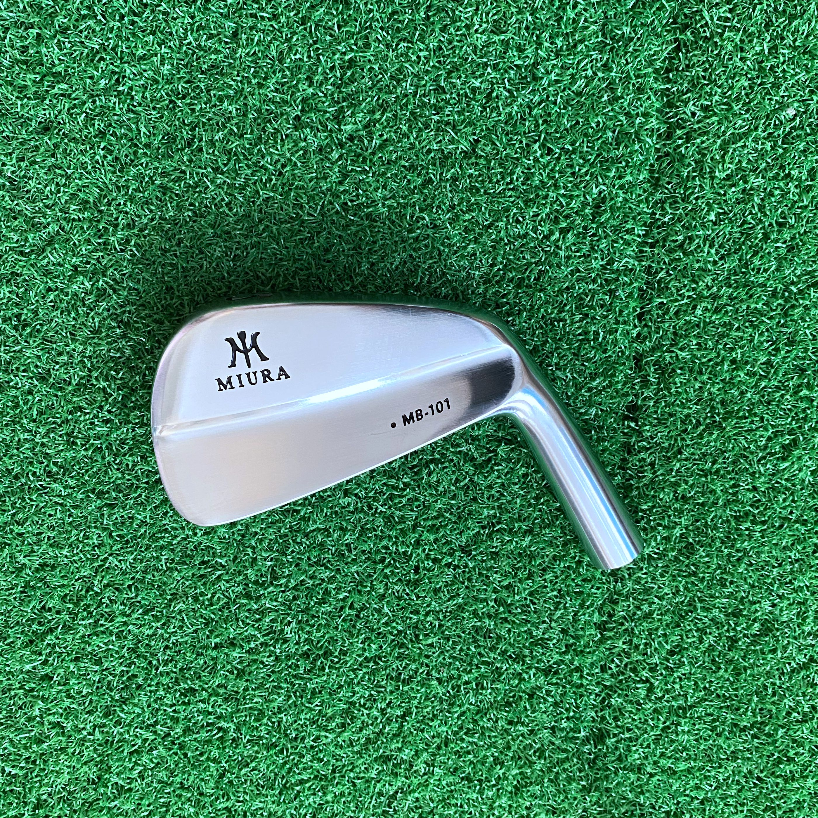 New Men Golf Clubs Irons Head 4-p 7Pcs Softe Iron No Shaft Free Shipping Miura Only