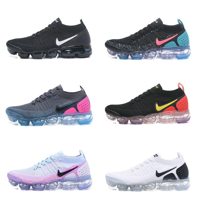 Zapatillas de deporte ar malha flyknit 2.0 2 betrue mujer moda tenis de corrida das mulheres dos homens vmf2 14 cores tenis