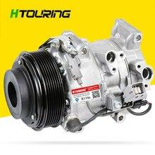 6SBU16C Auto AC Compressor For TOYOTA REIZ MARK-X CROWN Lexus GS300 GS350 IS250 88320-3A270 88320-3A300 447260-1467 447260-0541