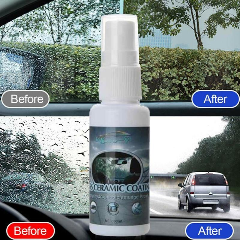 30ml Car Accessories Ceramic Car Coating Paint Care Nano Hydrophobic Coating Waterproof High Gloss Shine Liquid Polish Wax