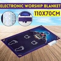 electronic interactive islamic prayer mat carpet for worship salat musallah prayer rug praying mat digital speaker rug carpet
