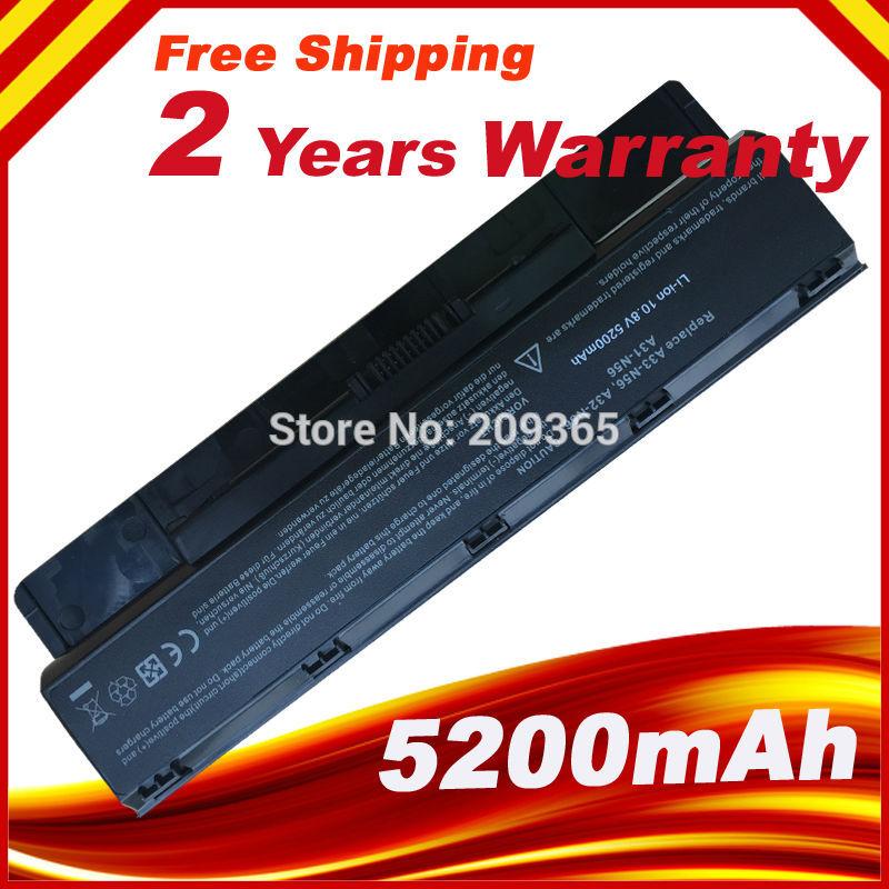 HSW, batería para ordenador portátil, A31-N56 A32-N56 A33-N56 para Asus N56 N56D N56D N56DY N56J N56JK N56VM N56VV N56VZ N56JN N56JR rápido envío