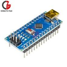 Mini processeur CH340 CH340G   Panneau de contrôle MCU, Module de pilote Nano V 3.0 Micro USB 5V 6V 12V pour Arduino