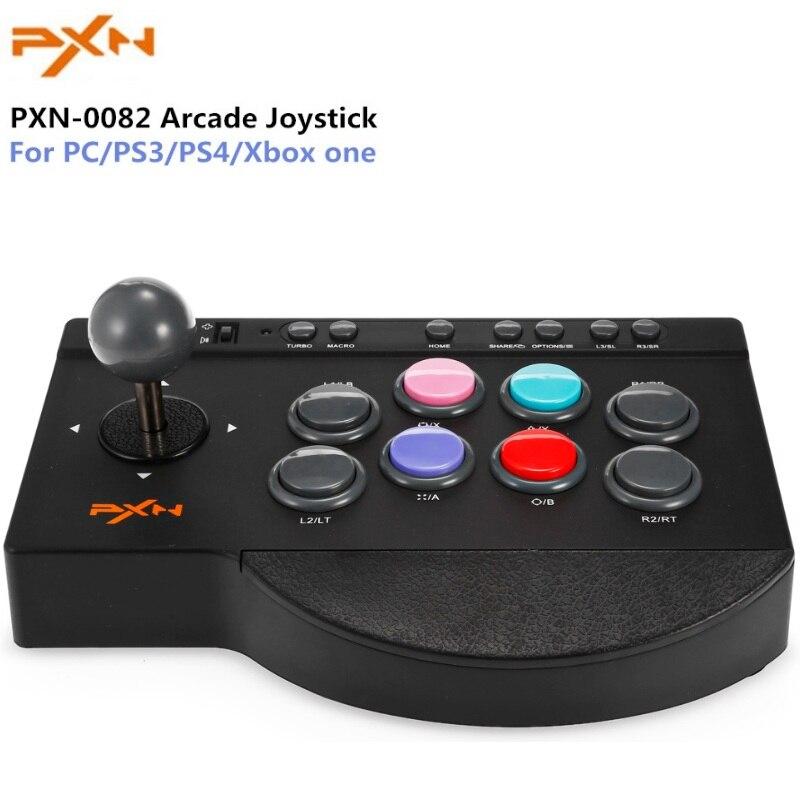 Arcade Joystick für Gamepad PC Xbox One PS4 PS3 von Control Trigger Spiel Pad USB Remote Stick Kit Controller Joypad jostick Video