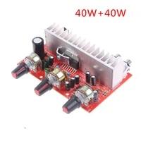 Amplificateur stereo double canal 40w x 2  1 piece  pour Home cinema TDA7377  panneau damplification Audio numerique
