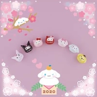 cartoon character enamel loose beads can be interspersed with bracelets similar to pdl style