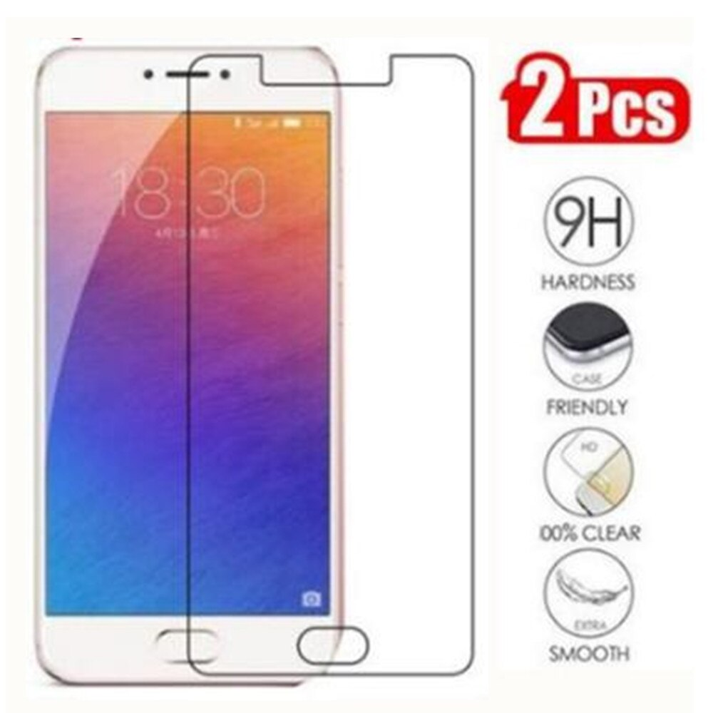 9H 2.5D Tempered Glass For Meizu Pro 6 Glass Mobile Phone Film Glass Case For Meizu Pro 6 Screen Pro