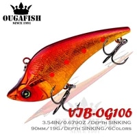 2021 fishing lure vib weights19g vibration isca artificial wobbler baits peche pike carp fish tackle goods pesca saltwater lures