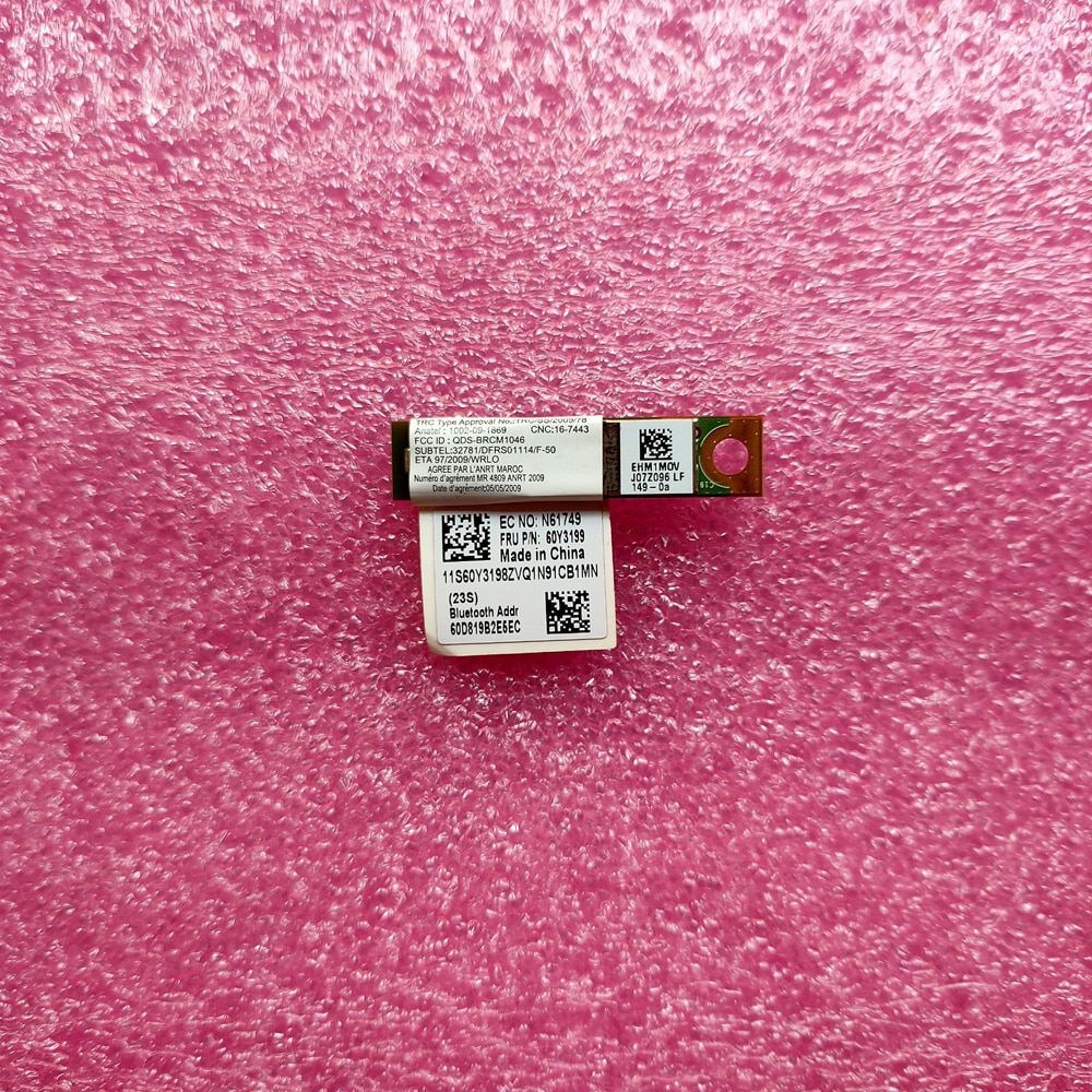 3.0 Bluetooth Module for Lenovo ThinkPad T410 T420 X220 T510 T520 E420 E520 Bluetooth Board Card 60Y3199