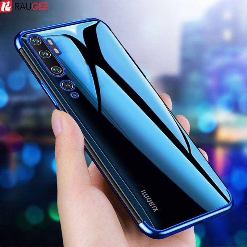 Phone Case for Xiaomi Mi Note 10 Lite Case Bumper Silicone Back Clear Cover for Xiaomi Mi CC9 Note 10 Pro Global Version Case