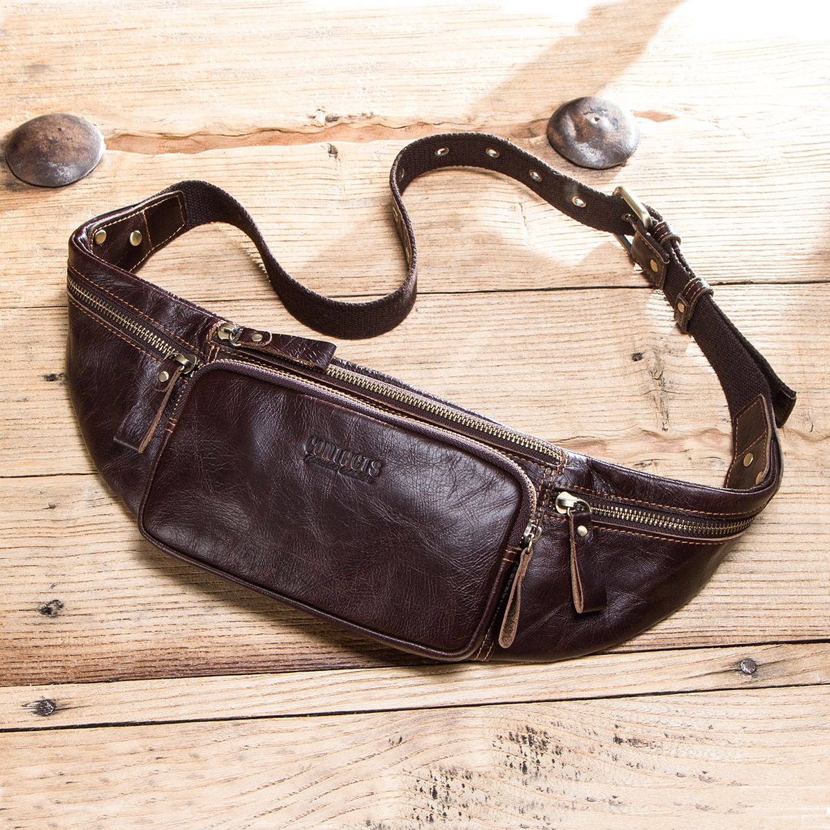 yiang new men s genuine leather cowhide vintage belt pouch purse fanny pack waist bag for cell mobile phone case cover skin Genuine Leather Cellphone Waist Bag For Men Travel Waist Pack Vintage Fanny Pack Male Belt Pouch Bag Casual Cell Phone Chest Bag