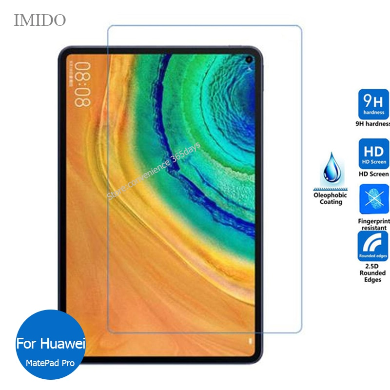 For Huawei MatePad Pro 5G Tempered Glass Screen Protector 9h Safety Protective Film on Mate pad Pro MRX AL09 AL19 W09 W19