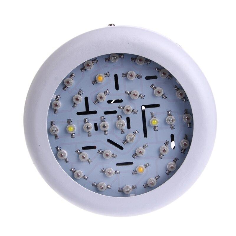 Luz LED de cultivo de 360W CA 85-265V 36, espectro completo, planta de hidroflor con enchufe estadounidense Q0KF