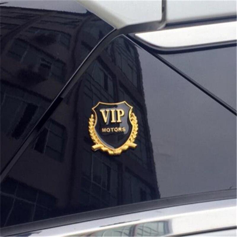 Neue Stil Auto Styling Dekorative Luxus Lion VIP Kreative Fenster Stamm Kraftstoff Tank Auto Körper Aufkleber Dekoration