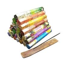 1 Box Indische Weihrauch Sticks Weiß Sage Meditation Düfte für Home Lavendel Stick Weihrauch Wohnzimmer Buddhistischen Mückenschutz