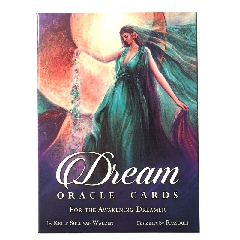 Tarot card game Dream oracle cards are used in the table of fate divination.
