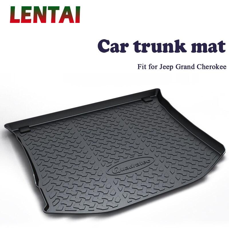 LENTAI 1PC de coffre arrière de Voiture tapis protecteur Despace Utilitaire Pour Jeep Grand Cherokee 2012 2013 2017 2018 2019 WK2 anti-dérapant Imperméable Tapis accessoires
