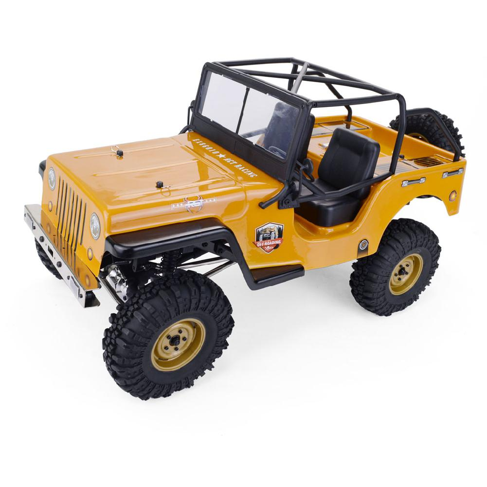 RGT EX86010-CJ 1/10 2,4G 4WD transmisión dividida todo terreno todoterreno Rock Crawler escalada vehículo RC coche RTR