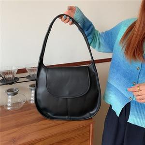 Large Vintage PU Leather Crossbody Bag for Women 2021 Branded Chain Designer Handbags Women's Trend Hand Bag Cross Body Bags