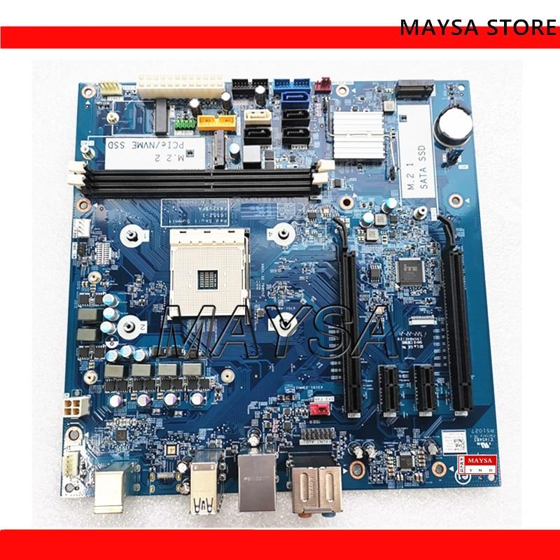لوحة أم لسطح المكتب من DELL Inspiron MAX 5675 AM4 X370 DDR4 16552-1 F6X2V لوحة رئيسية FA تم اختبارها بالكامل 100%