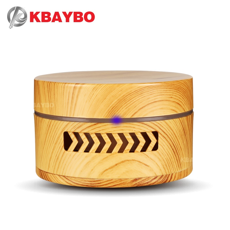 AliExpress - KBAYBO Mini Aroma Diffuser Wood Grain Fragrance Air Purifier Essential Oil Diffuser Replaceable Battery Air Cleaner in Car Home