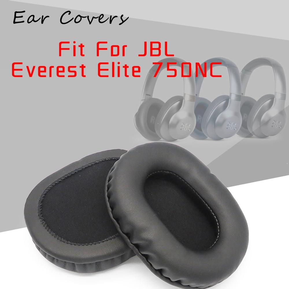 Ear Pads For JBL Everest Elite 750NC Headphone Earpads Replacement Headset Pad PU Leather Sponge Foam